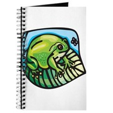 Chubby Green Frog Journal