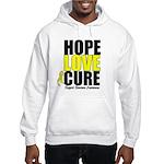 HopeLoveCure Sarcoma Hooded Sweatshirt