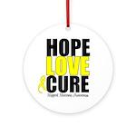 HopeLoveCure Sarcoma Ornament (Round)