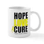 HopeLoveCure Sarcoma Mug