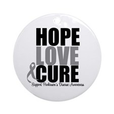 HopeLoveCure Parkinsons Ornament (Round)