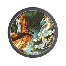 Dante's Inferno Wall Clock