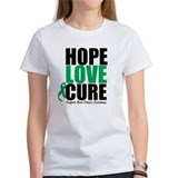HopeLoveCure LiverCancer Tee