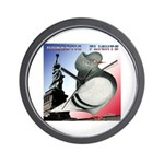 Liberty Flight Pigeon Wall Clock