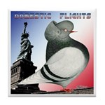 Liberty Flight Pigeon Tile Coaster