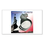 Liberty Flight Pigeon Rectangle Sticker 10 pk)