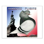 Liberty Flight Pigeon Small Poster