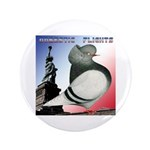 "Liberty Flight Pigeon 3.5"" Button (100 pack)"