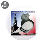 "Liberty Flight Pigeon 3.5"" Button (10 pack)"