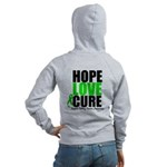 HopeLoveCure KidneyCancer Women's Zip Hoodie