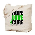 HopeLoveCure KidneyCancer Tote Bag