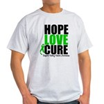 HopeLoveCure KidneyCancer Light T-Shirt