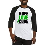 HopeLoveCure KidneyCancer Baseball Jersey