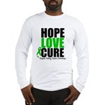 HopeLoveCure KidneyCancer Long Sleeve T-Shirt