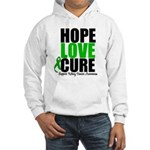 HopeLoveCure KidneyCancer Hooded Sweatshirt