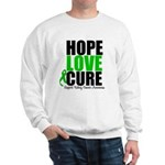 HopeLoveCure KidneyCancer Sweatshirt
