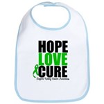 HopeLoveCure KidneyCancer Bib
