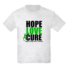 HopeLoveCure KidneyCancer T-Shirt