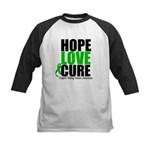 HopeLoveCure KidneyCancer Kids Baseball Jersey