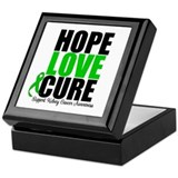 HopeLoveCure KidneyCancer Keepsake Box