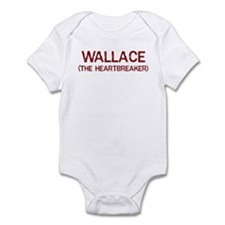 Wallace the heartbreaker Infant Bodysuit