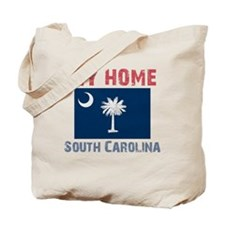 My Home South Carolina Vintag Tote Bag