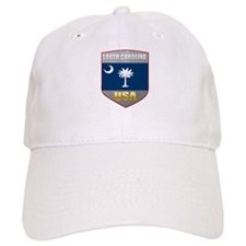 South Carolina USA Crest Baseball Cap