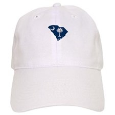 South Carolina Stripe Custom Baseball Cap