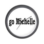 go Michelle Wall Clock