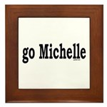 go Michelle Framed Tile