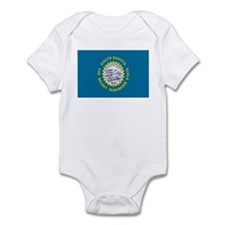 Beloved South Dakota Flag Mod Infant Bodysuit