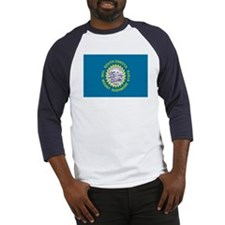 Beloved South Dakota Flag Mod Baseball Jersey