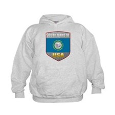 South Dakota USA Crest Hoodie