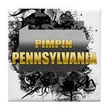 Pimpin' Pennsylvania Tile Coaster