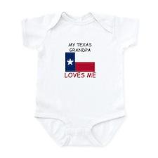 My Texas Grandpa Loves Me Infant Bodysuit