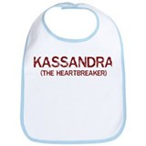 Kassandra the heartbreaker Bib