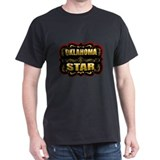 Oklahoma Star Gold Badge Seal T-Shirt