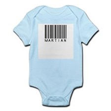 Martian Barcode Infant Bodysuit