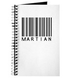 Martian Barcode Journal