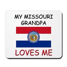 My Montana Grandpa Loves Me Mousepad