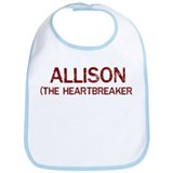Allison the heartbreaker Bib