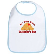 First Valentine's Day Bib