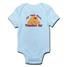 First Valentine's Day Infant Bodysuit