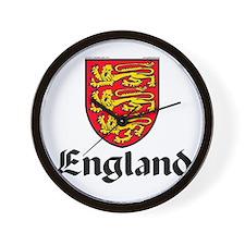 England: Heraldic Wall Clock