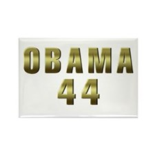 Obama 44 Rectangle Magnet (100 pack)