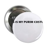 "This is My Purim Costume 2.25"" Button (10 pack)"