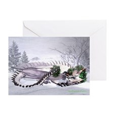 Ice Dragon Greeting Cards (Pk of 10)