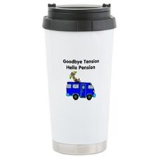 Retirement Ceramic Travel Mug