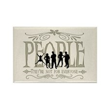 People Rectangle Magnet (100 pack)