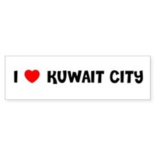 I LOVE KUWAIT CITY Bumper Bumper Sticker